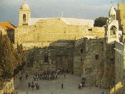 Die Geburtskirche in Bethlehem