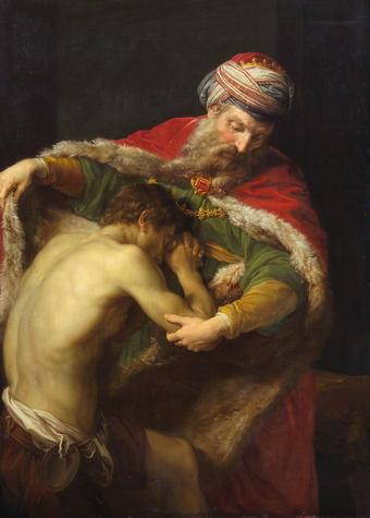 Η επιστροφή του ασώτου. Pompeo Batoni 1773