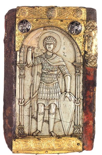 Ανάγλυφη εικόνα του Αγ. Γεωργίου του 10ου αιώνα
