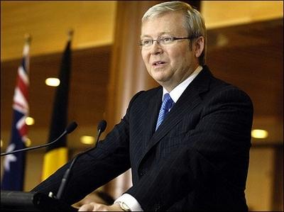 Prime Minister Kevin Rudd - Australia