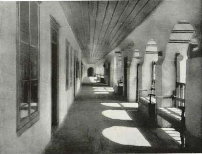 Vatopedi - hallway