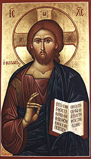 ΙΗΣΟΥΣ ΧΡΙΣΤΟΣ Ο ΦΩΤΟΔΟΤΗΣ (εικόνα του Φώτη Κόντογλου)