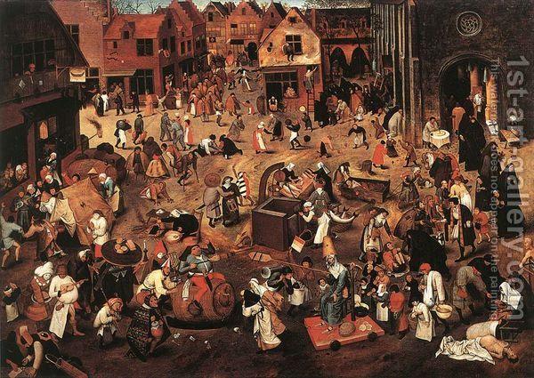 Καρναβάλι - Σαρακοστή (Bruegel)