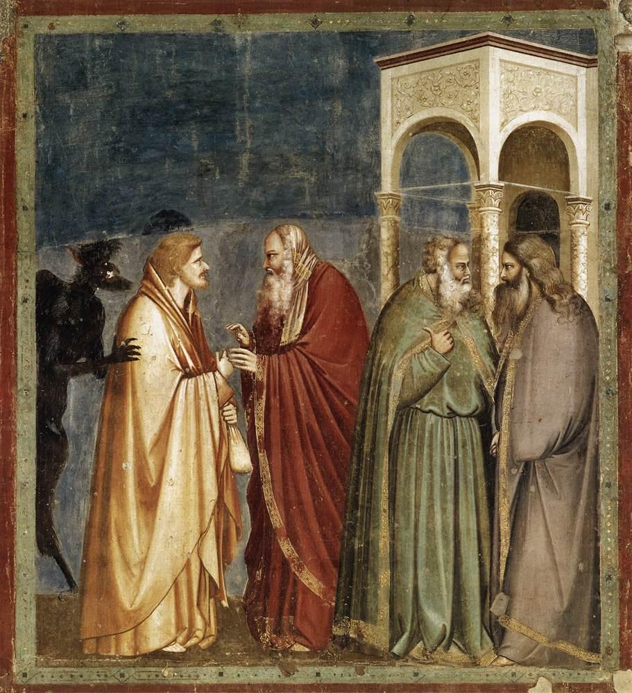 Ο Ιούδας προδίδει τον Χριστό