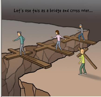 """""""Ας το χρησιμοποιήσουμε σαν γέφυρα να περάσουμε απέναντι..."""""""