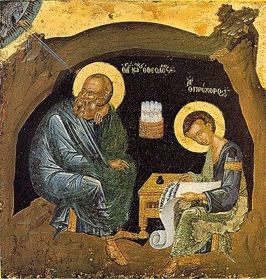 John the Divine in Patmos