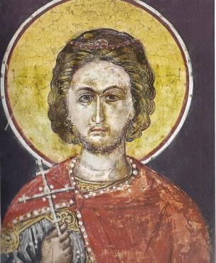 Άγ. Νικόλαος ο Νέος. Ιερά Μονή Αναπαυσά, Μετέωρα