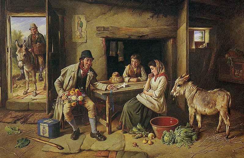 Πίνακας του άγγλου ζωγράφου Charles Hunt