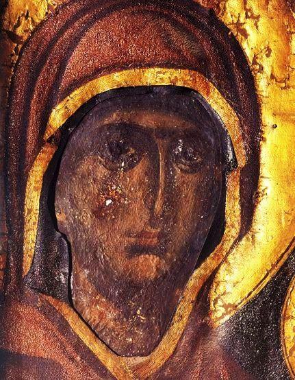 Παναγία η Εσφαγμένη (θαυματουργή εικόνα Ι. Μ. Βατοπαιδίου)