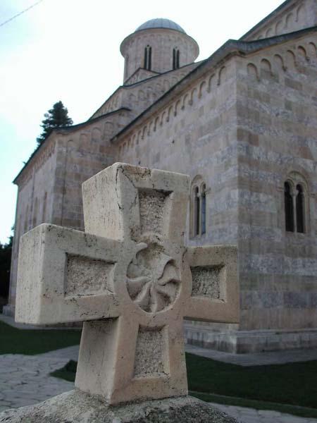 Decani Monastery in Kosovo