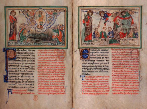 Μεσαιωνικό χειρόγραφο της Αποκάλυψης