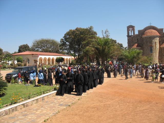 Η Ιερά Μονή Αγίου Νεκταρίου στο Κουλουέζι του Κογκό