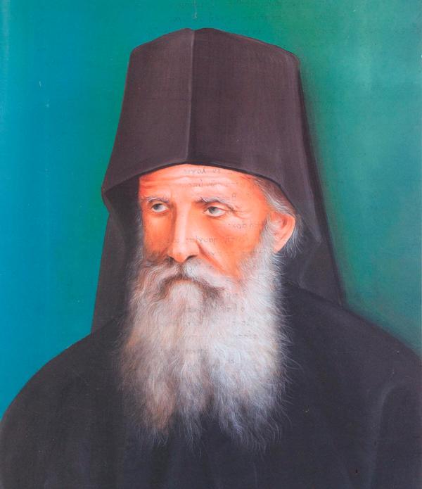 Πορτραίτο του μακαρίου Γέροντος Δανιήλ Κατουνακιώτου (1846-1929)