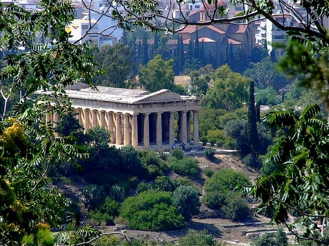hefestus temple in athens