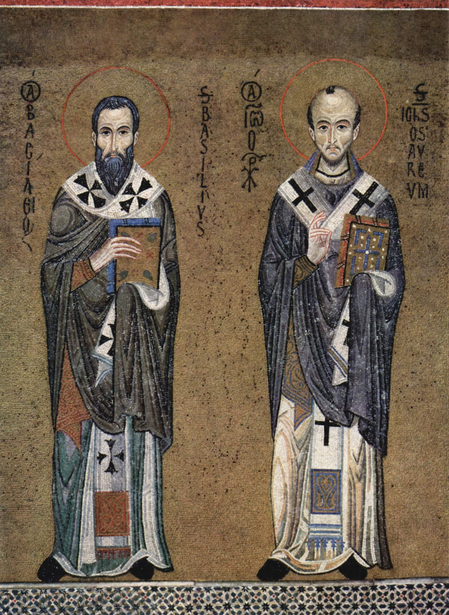 St John Chrysostom and St Basil the Great
