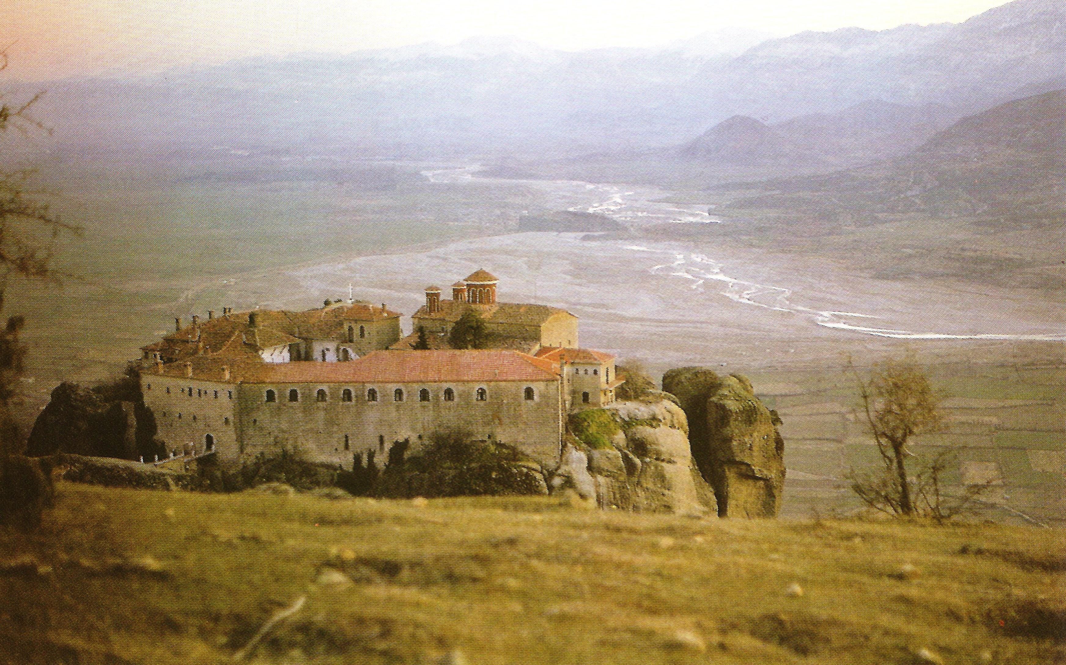 Η Ιερά Μονή Αγίου Στεφάνου. Εξωτερική άποψη.