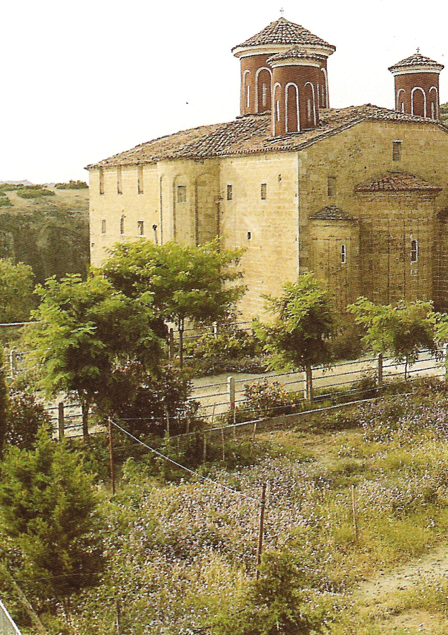 Το καθολικό (ιερός ναός αγίου Χαραλάμπους) της Ιεράς Μονής Αγίου Στεφάνου