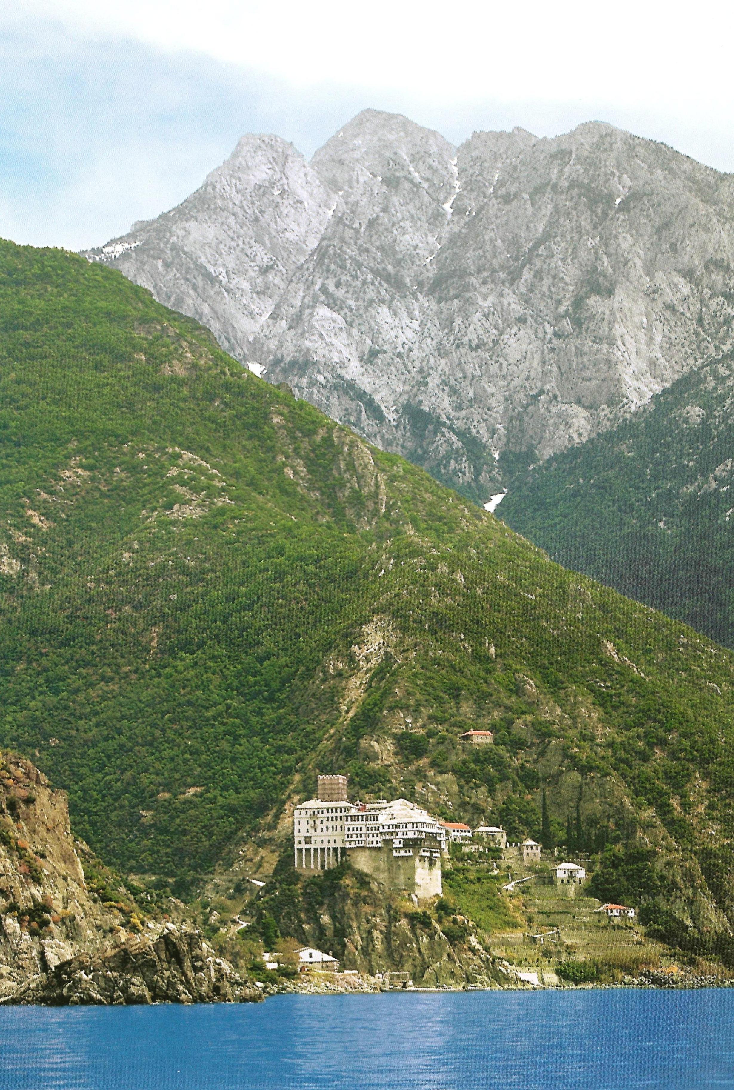 Η Ιερά Μονή Αγίου Διονυσίου, Αγίου Όρους.