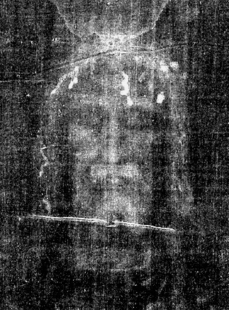 "The Holy Image or ""Mandylion"" (also known as the Shroud of Turin). For proof that this cloth is indeed the ancient image of Jesus Christ venerated since early Christian times in Syria, see these two books: http://www.amazon.com/Holy-Faces-Secret-Places-Wilson/dp/0385261055 and http://www.amazon.com/Crucifixion-Second-Completely-Revised-Expanded/dp/1590770706/ref=sr_1_1?ie=UTF8&s=books&qid=1254215747&sr=1-1"