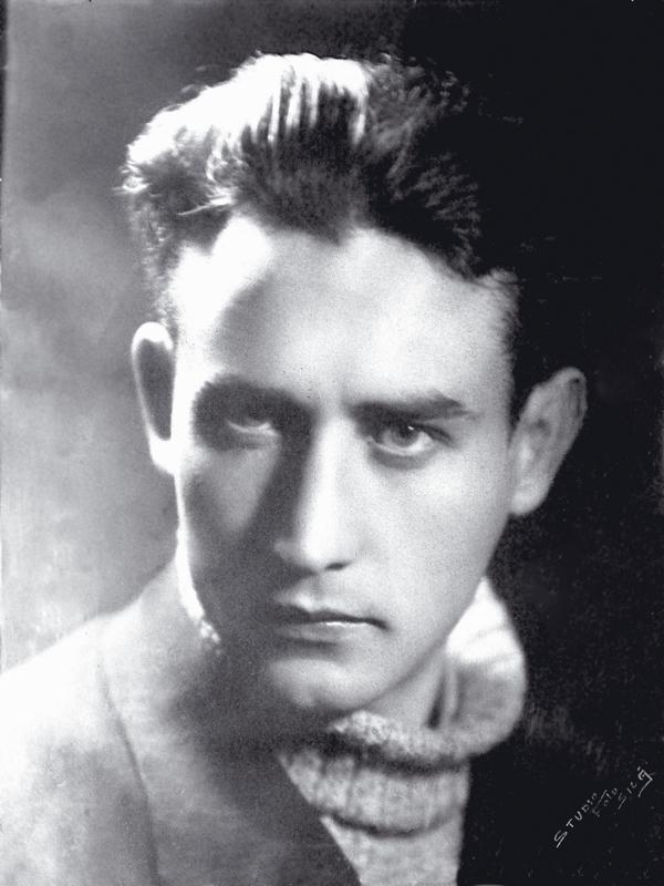 Ο Βαλέριος Γκαφένκου όταν ήταν φοιτητής, πριν την φυλάκισή του