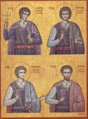 Aggelis,Manoyil,Georgios,Nikolaos
