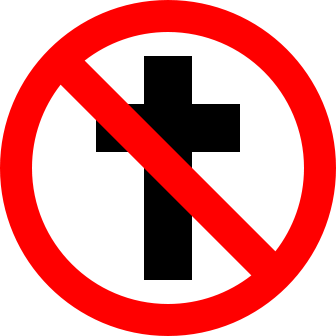 No cross