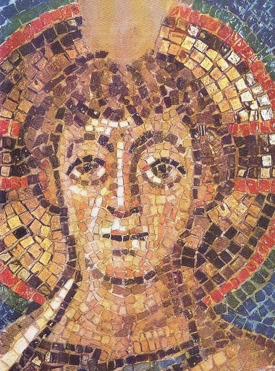 Christ. 6th century mosaic, removed by Turkish smugglers from the apse of the Church of Panayia Kanakaria in occupied Cyprus. The Indianapolis District Court recently ruled for its return to the legal owners, the Church of Cyprus.