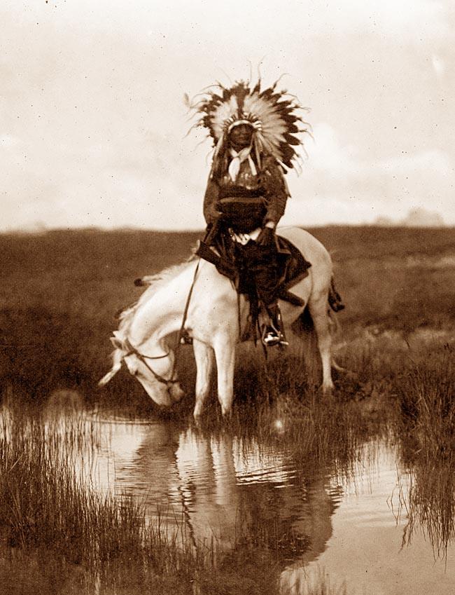 Cheyenne indian chief