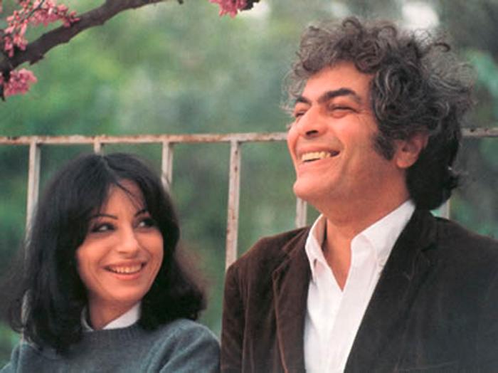 Ο Μάνος Λοΐζος με την Χάρι Αλεξίου