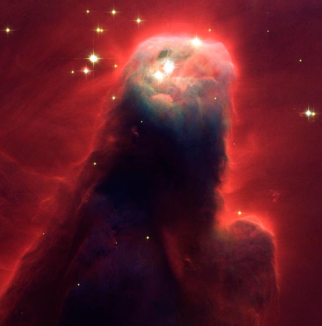 Ο αστερισμός Nebula που δημιουργείται από αέρια και σκόνη