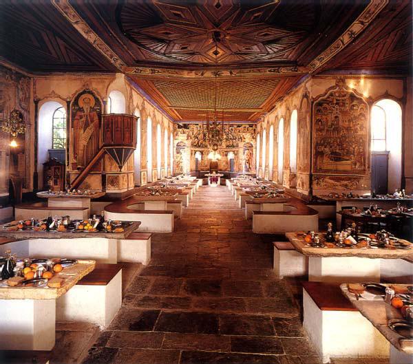 Η τράπεζα της Ιεράς Μεγίστης Μονής Βατοπαιδίου