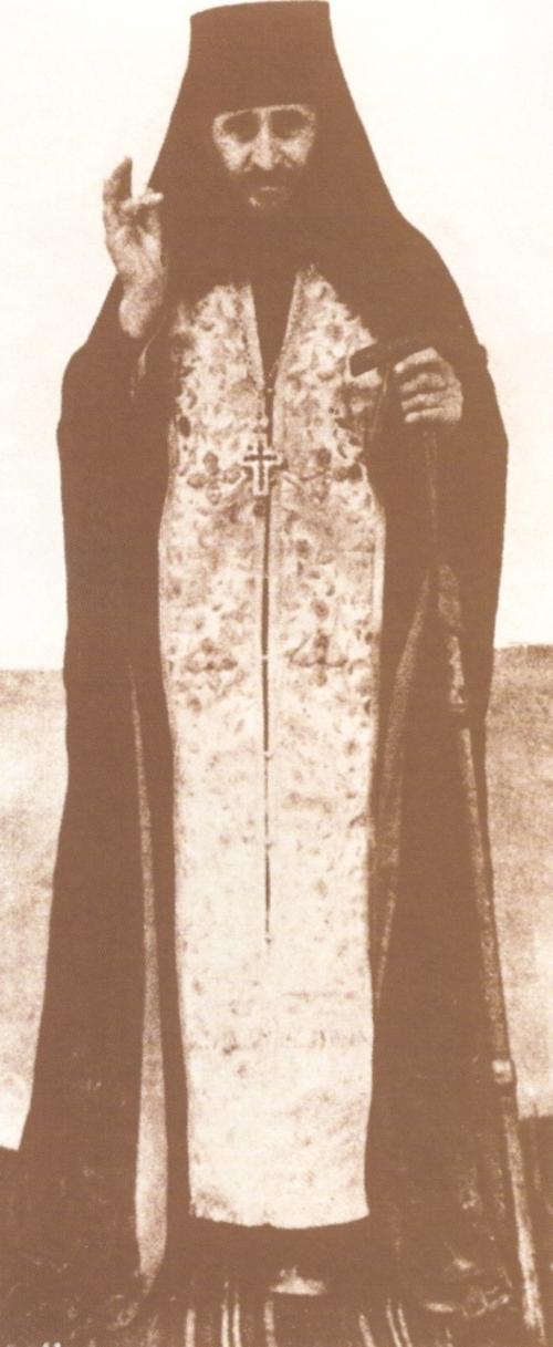 Ο Άγιος Γεώργιος Καρσλίδης.