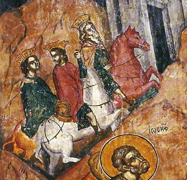 Τοιχογραφία της Φυγής στην Αίγυπτο2