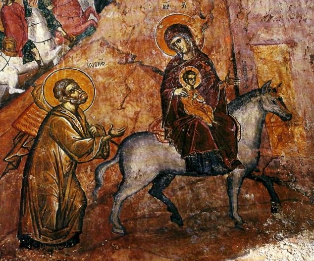 Τοιχογραφία της Φυγής στην Αίγυπτο5