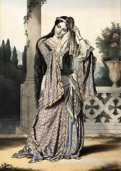 Η πριγκίπισσα Ελένη Σούτσου.Louis Dupre