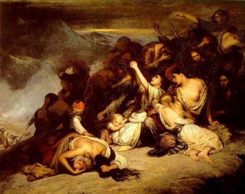 Οι Σουλιώτισσεςαπό Ary Scheffer (1827)