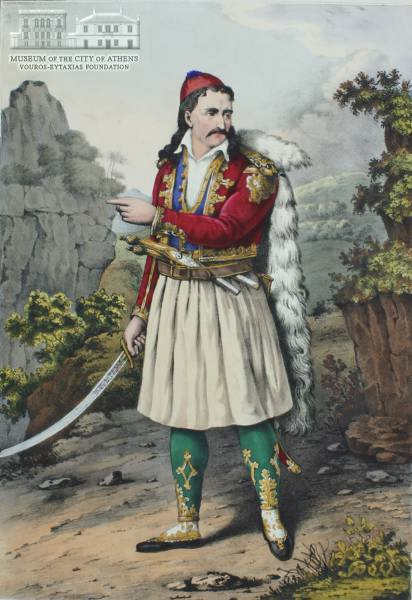 Ο Θ. Κολοκοτρώνης.Adam Friedel