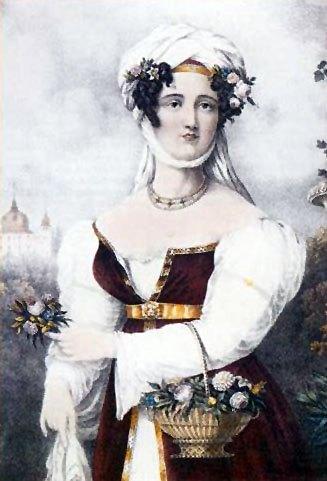 Μπουμπουλίνα 1827.Adam Friedel.
