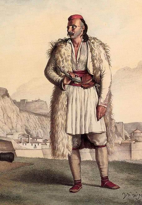 Σουλιώτης στην Κέρκυρα -Νικολός Περβόλης.Louis Dupre