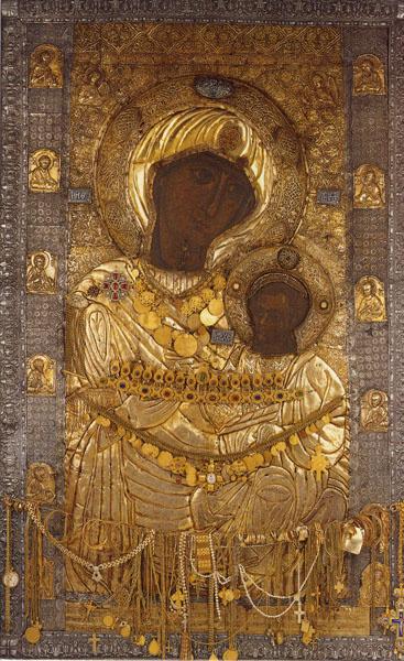Theotokos vizantini texni_ panagia Iviron