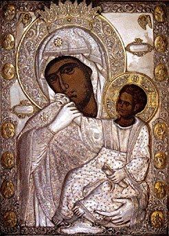 Theotokos vizantini texni_ panagia paramithia