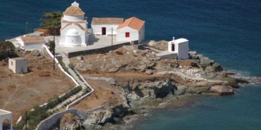 Παναγία Φλαμπουριανή! Φωτό:kythnos-travelmagic.gr