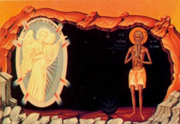 Ο Σατανάς εμφανίζεται στον Άγιο Πέτρο τον Αθωνίτη μετασχηματισμένος σε άγγελο φωτός