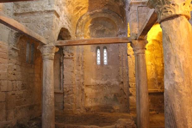 Ο ναός του Αγίου Γεωργίου (Κάστρο Κερύνειας)