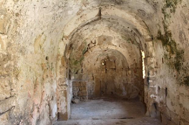 Το εσωτερικό του ναού της Αγίας Αικατερίνης