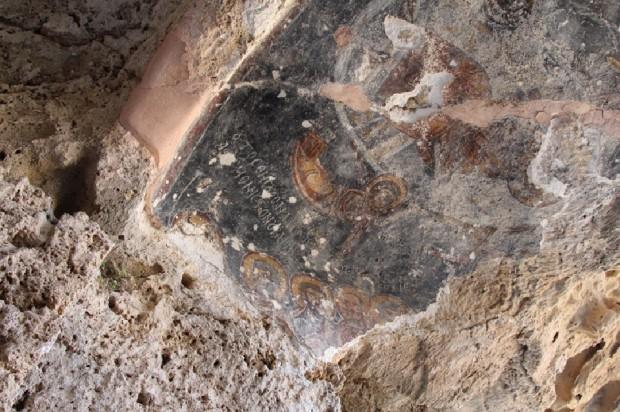 Τοιχογραφίες ναού Αγίας Μαύρας