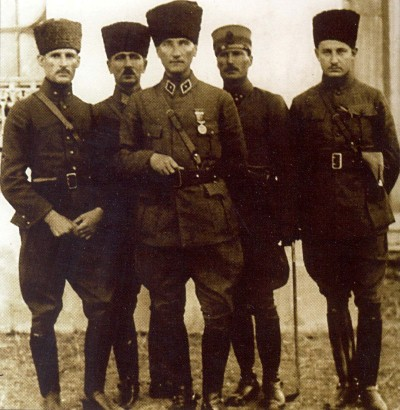 Ο Μουσταφά Κεμάλ Ατατούρκ στην Νικομήδεια τον Ιούνιο του 1922.