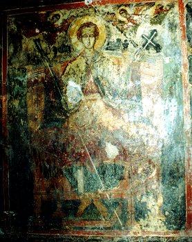 Τοιχογραφία από τον Άγιο Δημήτριο Αετού Αιτωλοακαρνανίας