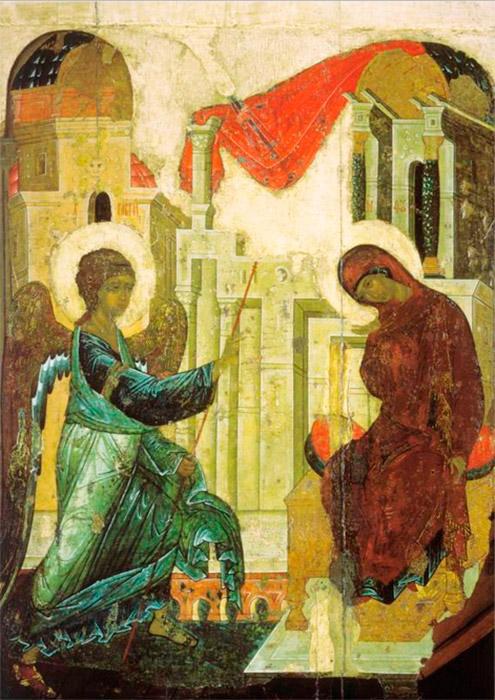 Στις 17 Οκτωβρίου συμπληρώθηκαν 585 χρόνια από το θάνατο του πιο σεβαστού ορθόδοξου αγιογράφου και εικονογράφου της Ρωσίας. Ο Αντρέι Ρουμπλιόφ γεννήθηκε στα τέλη του 1360 στη μικρή πόλη Ράντοζεζ κοντά στην Αγία Τριάδα Λαύρας του Αγίου Σεργίου. Κατά πάσα πιθανότητα, στα νιάτα του ήταν αρχάριος σε αυτό το μοναστήρι, όπου αργότερα χειροτονήθηκε μοναχός. Η πρώτη αναφορά στα χρονικά για τον Αντρέι Ρουμπλιόφ έχει ως εξής: Ο δάσκαλος που ζωγράφισε τον καθεδρικό ναό του Ευαγγελισμού της Θεοτόκου (1405) στο Κρεμλίνο της Μόσχας, μαζί με τον Θεοφάνη τον Έλληνα. / Ο Ευαγγελισμός της Θεοτόκου, 1405.