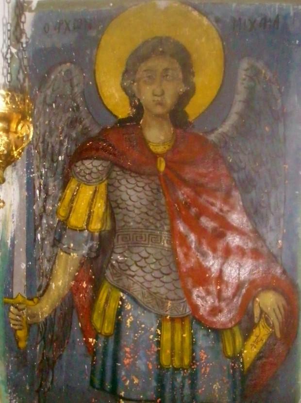 Αρχάγγελος Μιχαήλ (Ιερός Ναός Αγίου Χαραλάμπους Παλαιοχώρας Αίγινας)